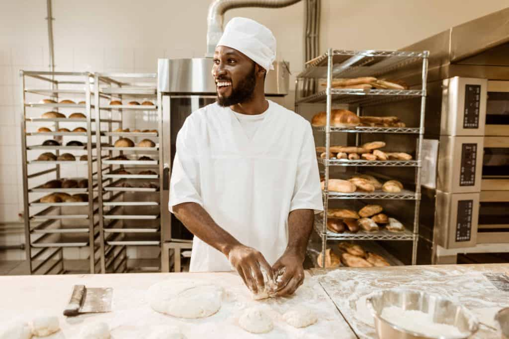 Hospitality Industry Dry Steam Sanitising Bakeries